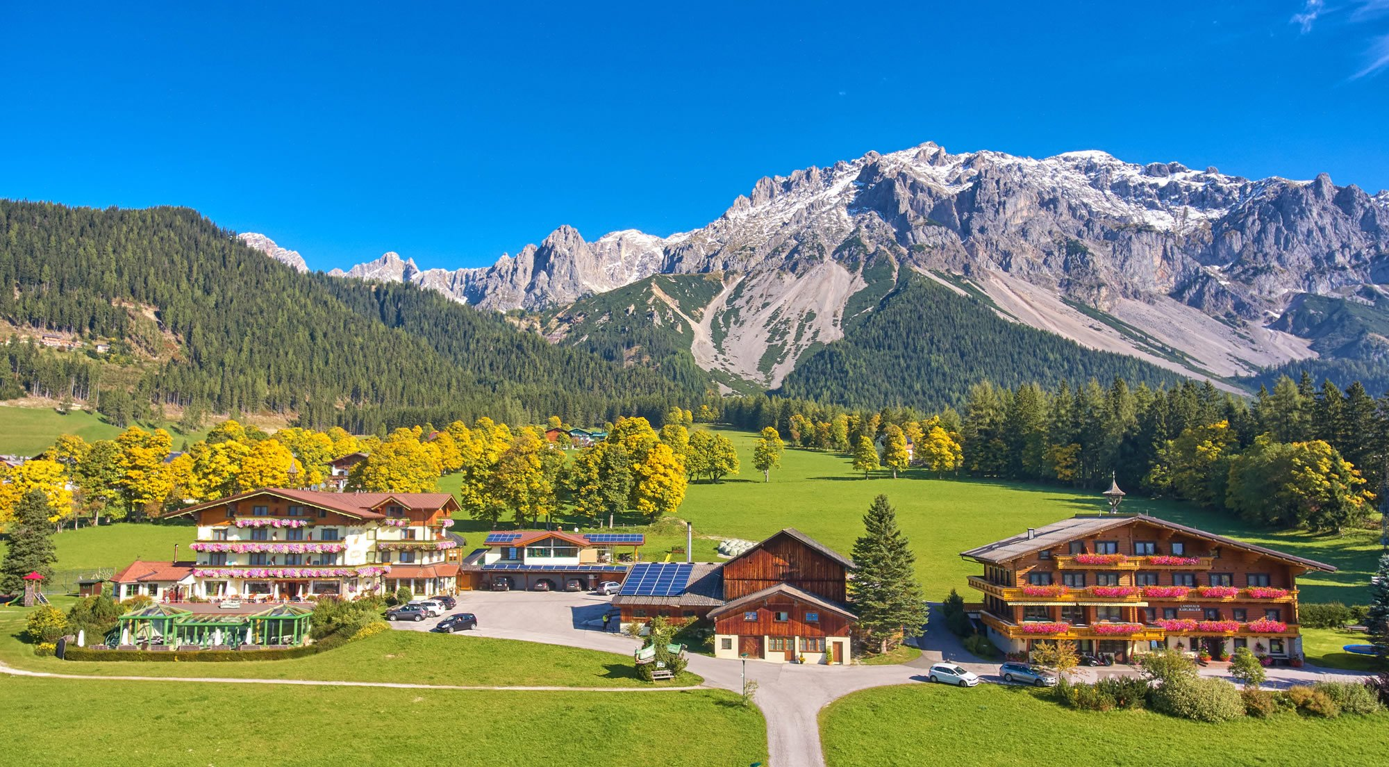 Hotel Pension Jagdhof Landhaus Karlbauer Ramsau am Dachstein